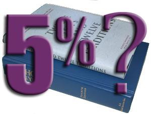 Books-5-percent