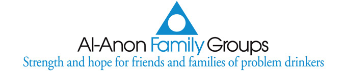 logo and slogan for alanon family groups