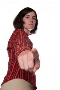 Scolding Woman