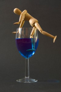 Little Man and Blue Drink Series